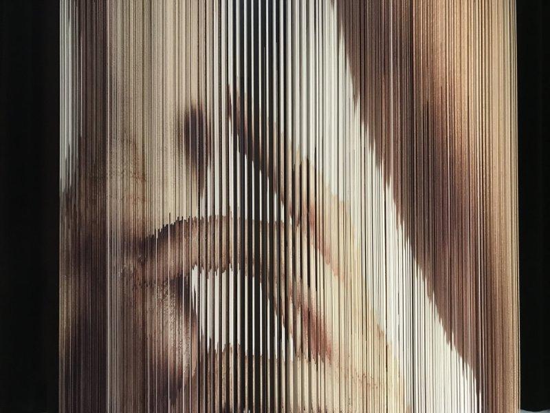 Vue de l'exposition Miniartextil 2019 Le Beffroi, Montrouge (44)