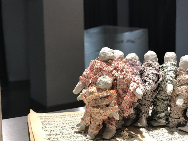Vue de l'exposition Miniartextil 2019 Le Beffroi, Montrouge (49)