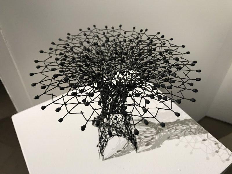 Vue de l'exposition Miniartextil 2019 Le Beffroi, Montrouge (54)