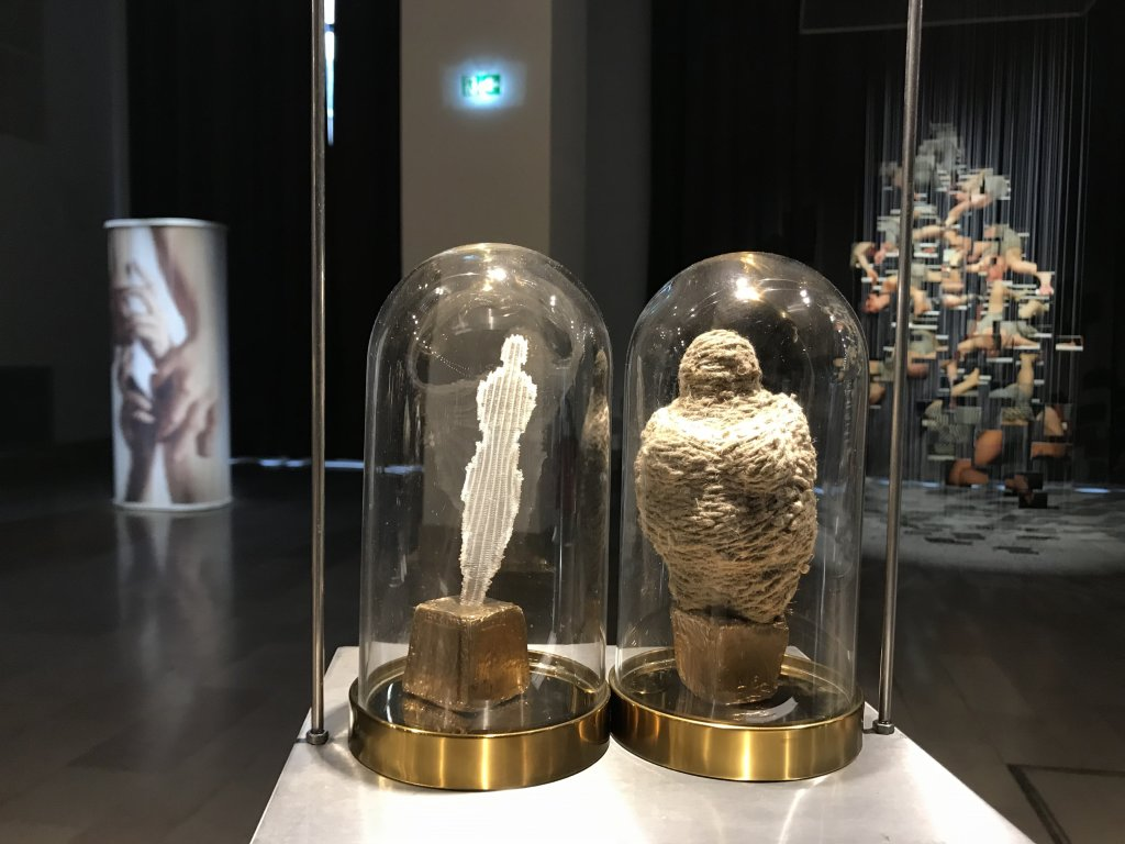 Vue de l'exposition Miniartextil 2019 Le Beffroi, Montrouge (58)