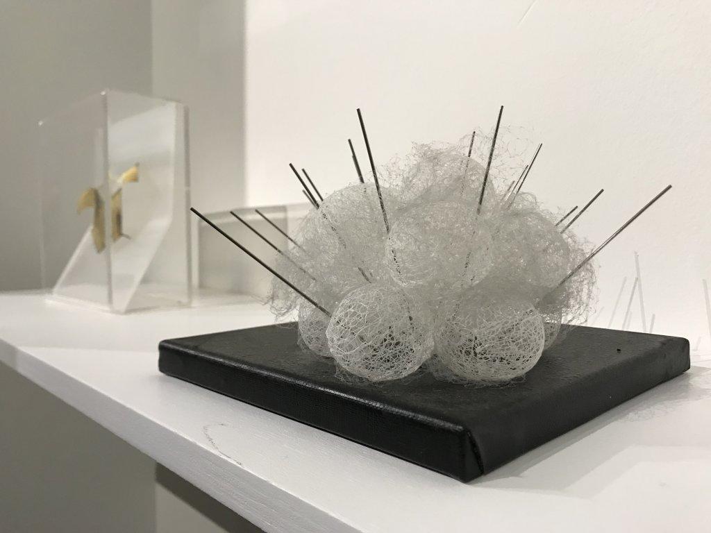 Vue de l'exposition Miniartextil 2019 Le Beffroi, Montrouge (70)