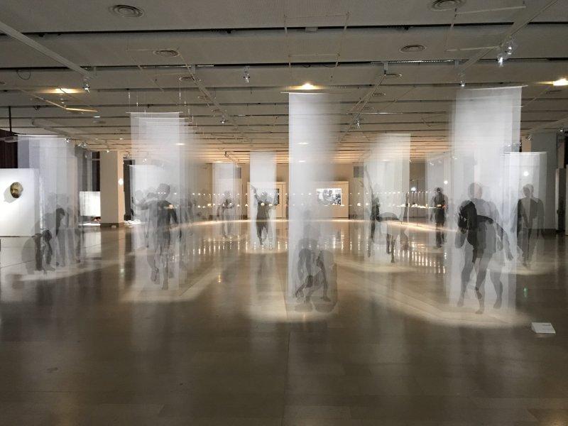 Vue de l'exposition Miniartextil 2019 Le Beffroi, Montrouge (75)