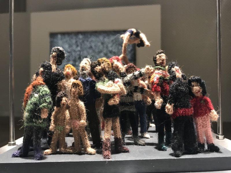 Vue de l'exposition Miniartextil 2019 Le Beffroi, Montrouge (87)