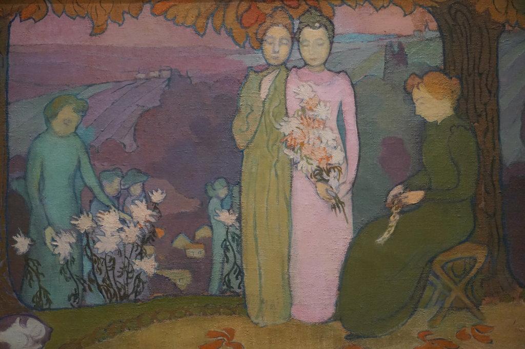 Vue de l'exposition Nabis au Musée du Luxembourg Paris (1)
