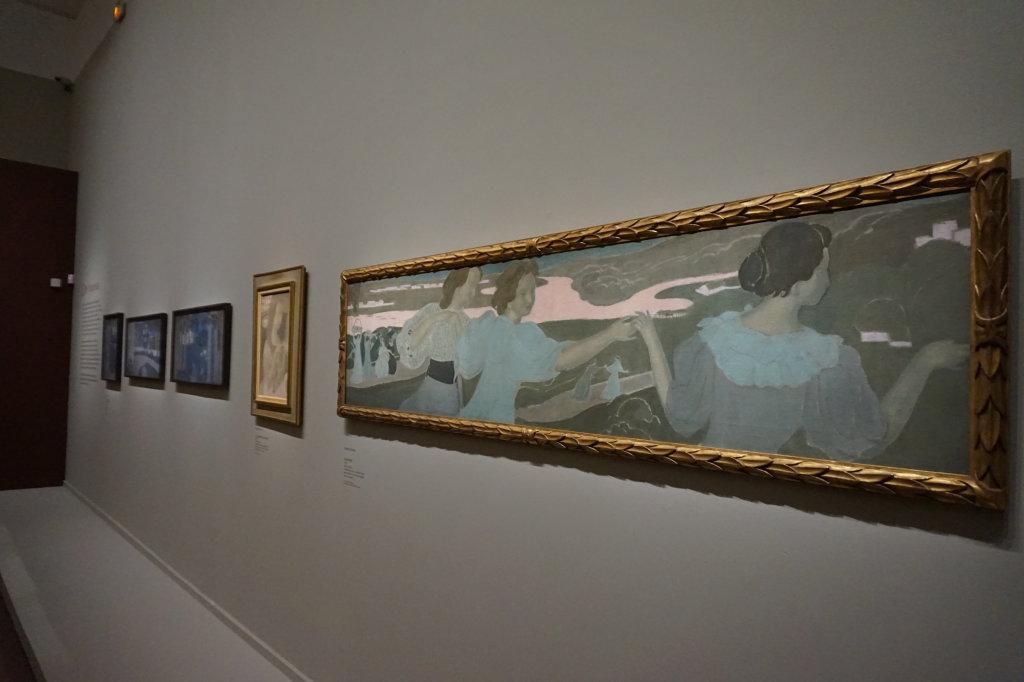 Vue de l'exposition Nabis au Musée du Luxembourg Paris (17)