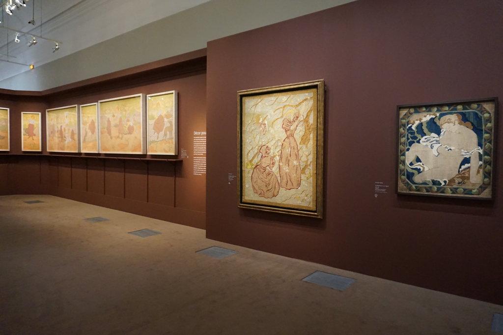 Vue de l'exposition Nabis au Musée du Luxembourg Paris (18)
