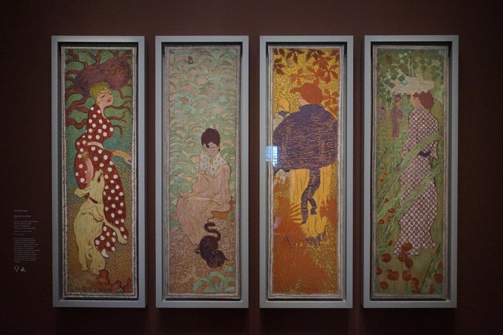 Vue de l'exposition Nabis au Musée du Luxembourg Paris (2)