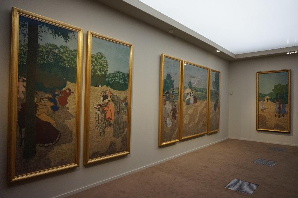 Vue de l'exposition Nabis au Musée du Luxembourg Paris (5)