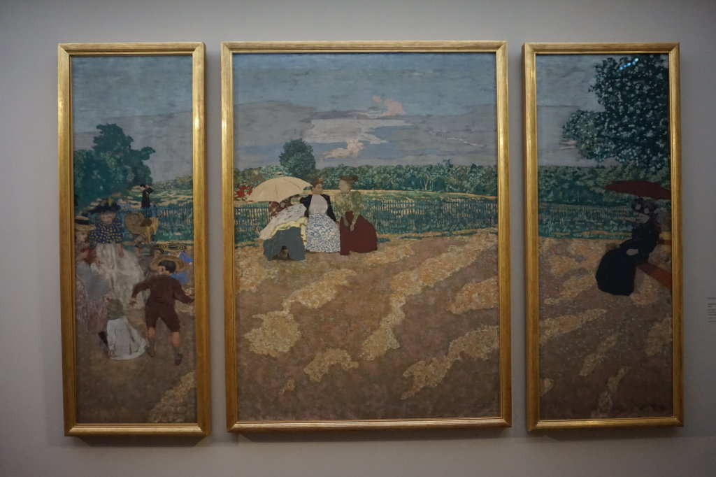 Vue de l'exposition Nabis au Musée du Luxembourg Paris (6)