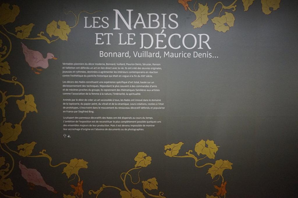 Vue de l'exposition Nabis au Musée du Luxembourg Paris (61)