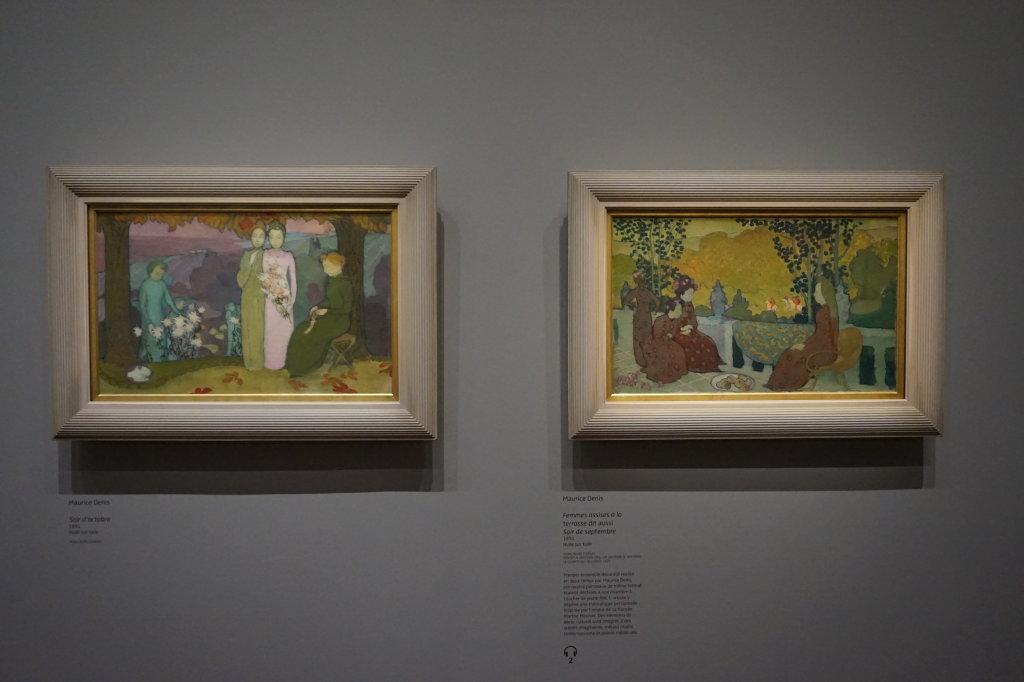 Vue de l'exposition Nabis au Musée du Luxembourg Paris (62)