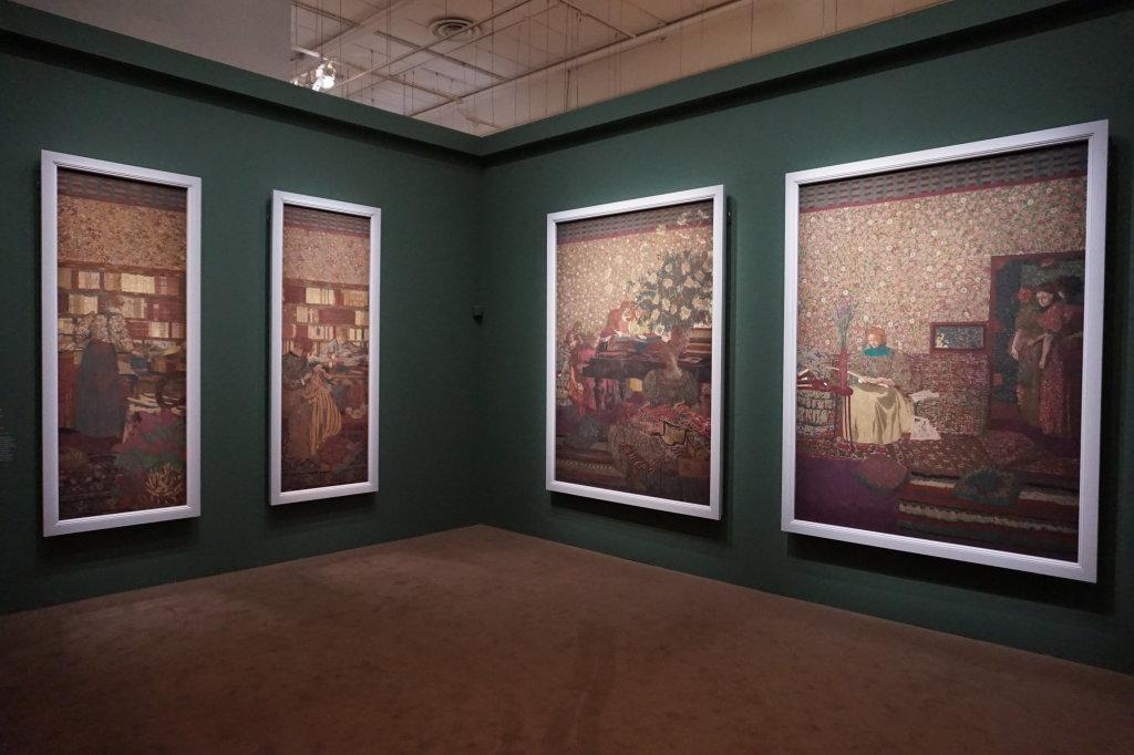 Vue de l'exposition Nabis au Musée du Luxembourg Paris (9)