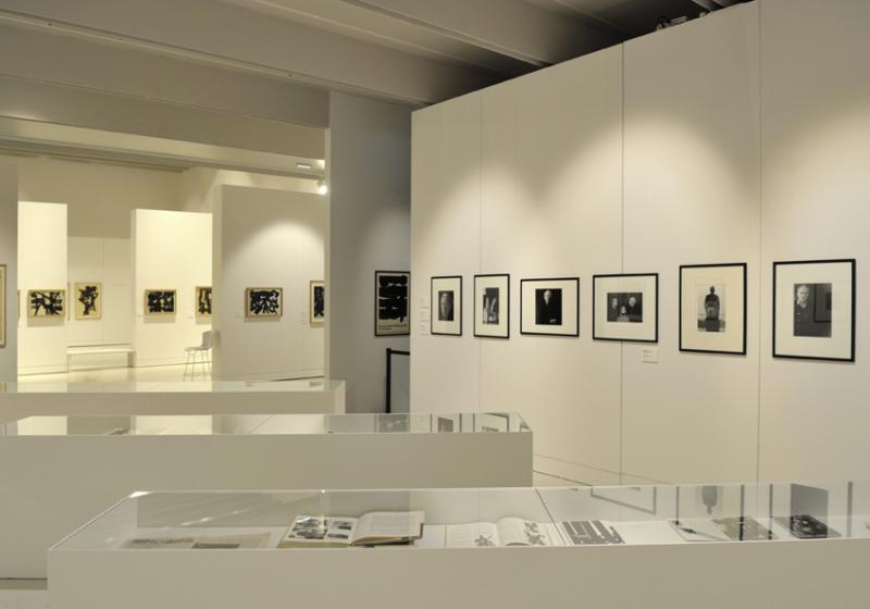 Vue de l'exposition Pierre Soulages, oeuvres sur papier - Musée Soulages, Rodez (10)