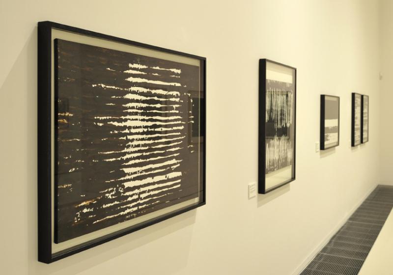 Vue de l'exposition Pierre Soulages, oeuvres sur papier - Musée Soulages, Rodez (12)