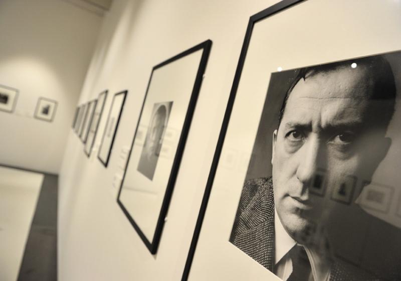 Vue de l'exposition Pierre Soulages, oeuvres sur papier - Musée Soulages, Rodez (15)