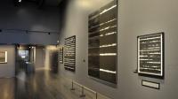 Vue de l'exposition Pierre Soulages, oeuvres sur papier - Musée Soulages, Rodez (23)