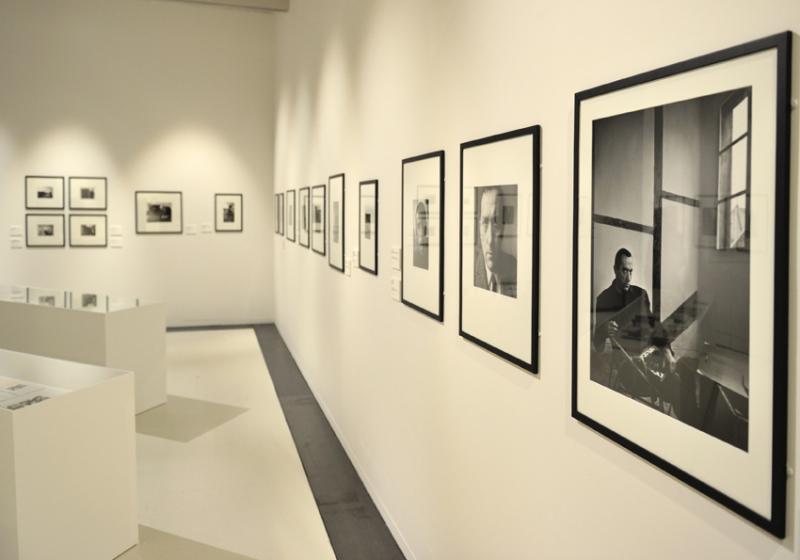 Vue de l'exposition Pierre Soulages, oeuvres sur papier - Musée Soulages, Rodez (3)
