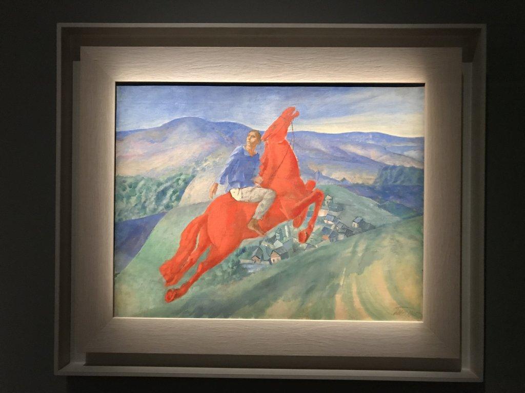 Vue de l'exposition Rouge, Art et utopie au pays des Soviets, Paris (16)