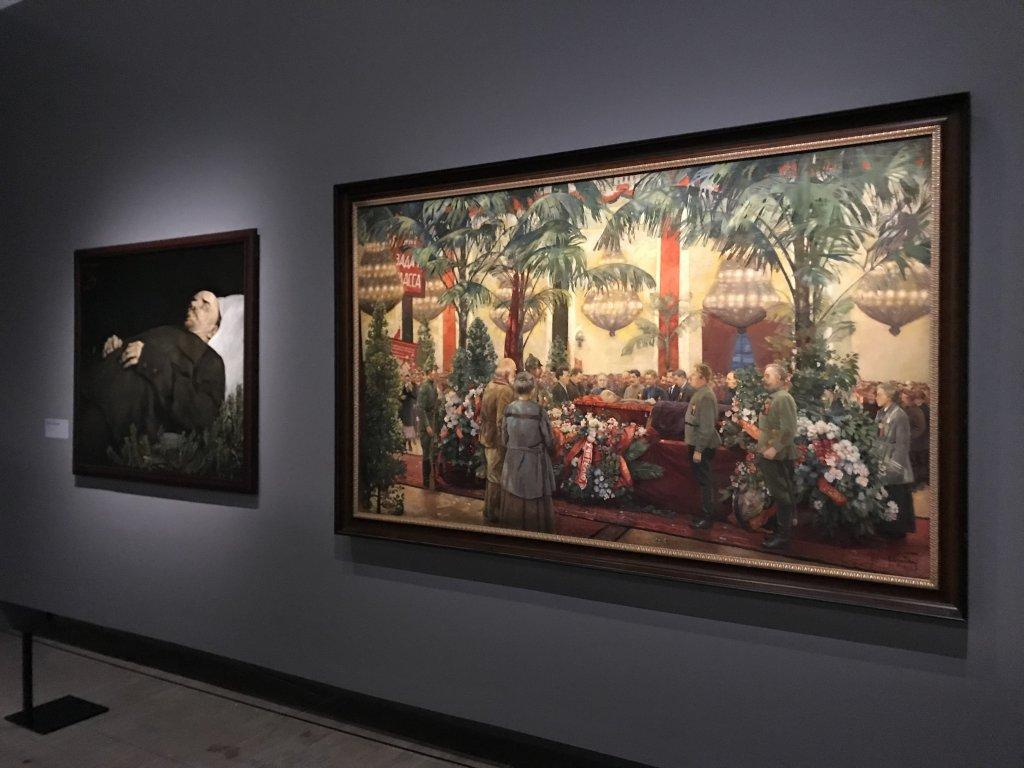 Vue de l'exposition Rouge, Art et utopie au pays des Soviets, Paris (20)