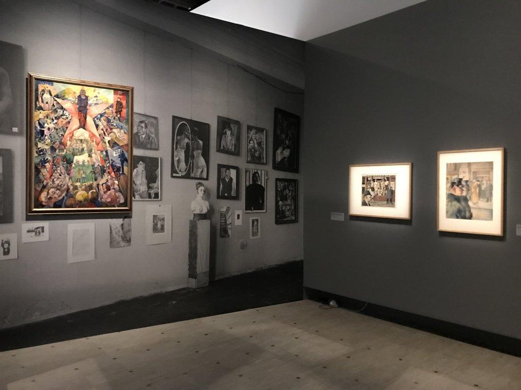 Vue de l'exposition Rouge, Art et utopie au pays des Soviets, Paris (23)