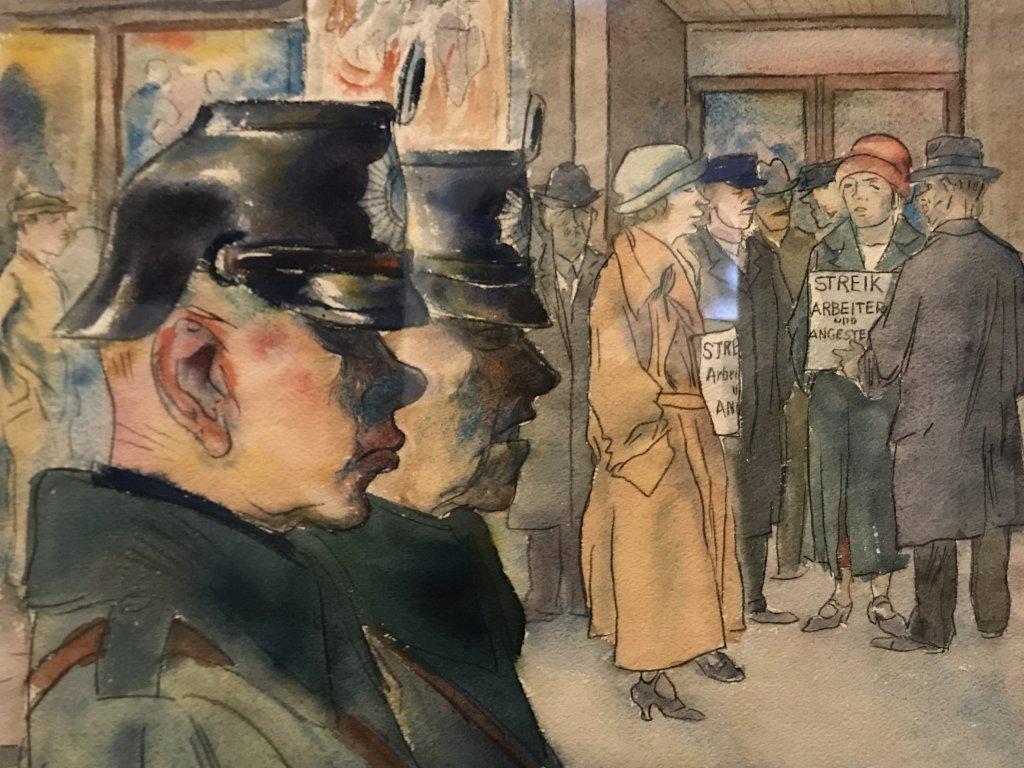 Vue de l'exposition Rouge, Art et utopie au pays des Soviets, Paris (24)