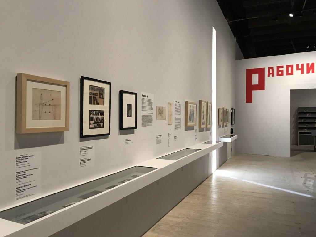 Vue de l'exposition Rouge, Art et utopie au pays des Soviets, Paris (26)