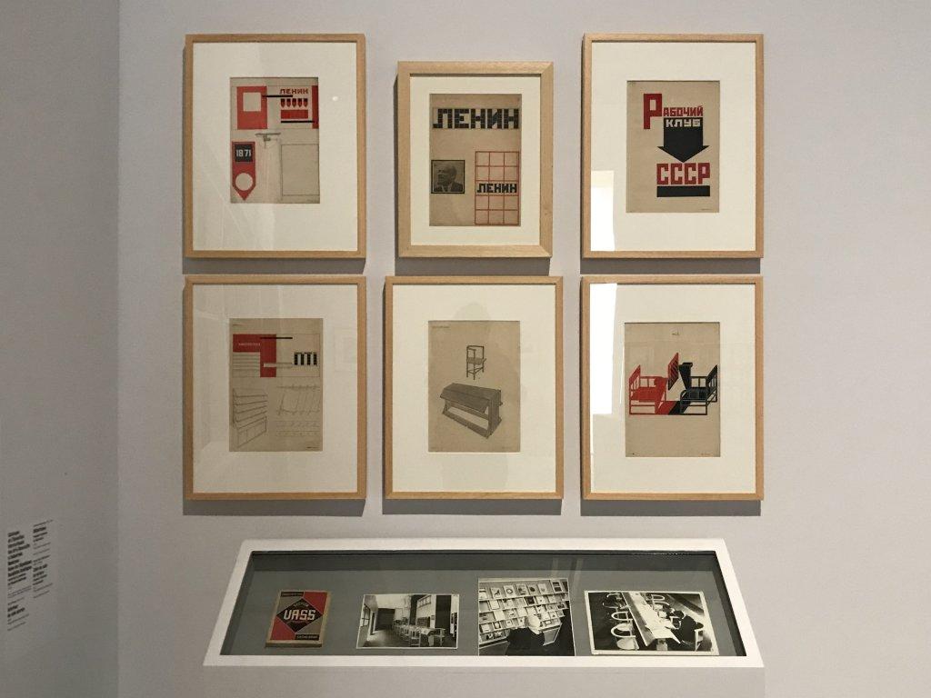 Vue de l'exposition Rouge, Art et utopie au pays des Soviets, Paris (29)