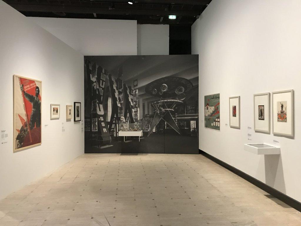 Vue de l'exposition Rouge, Art et utopie au pays des Soviets, Paris (31)