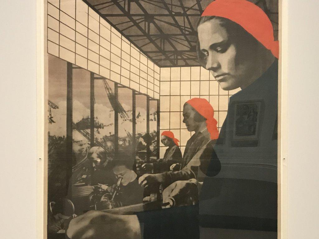 Vue de l'exposition Rouge, Art et utopie au pays des Soviets, Paris (35)