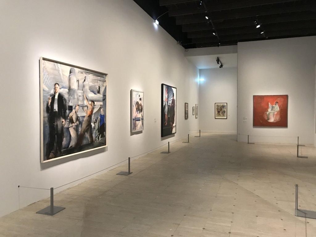 Vue de l'exposition Rouge, Art et utopie au pays des Soviets, Paris (39)