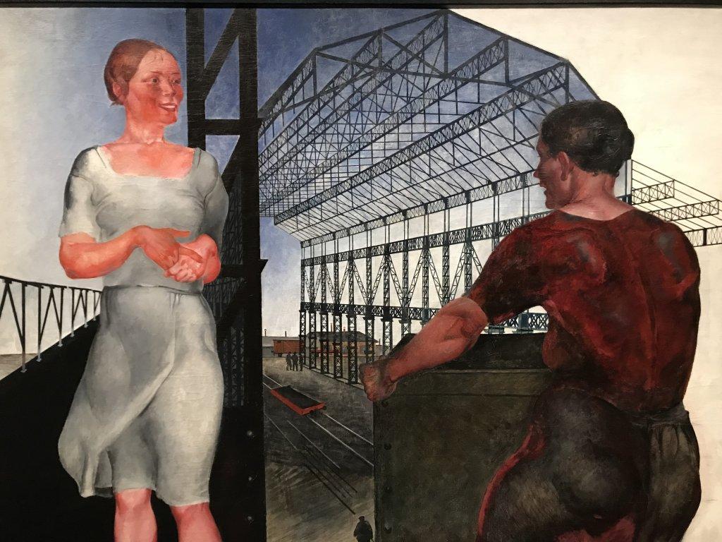 Vue de l'exposition Rouge, Art et utopie au pays des Soviets, Paris (40)