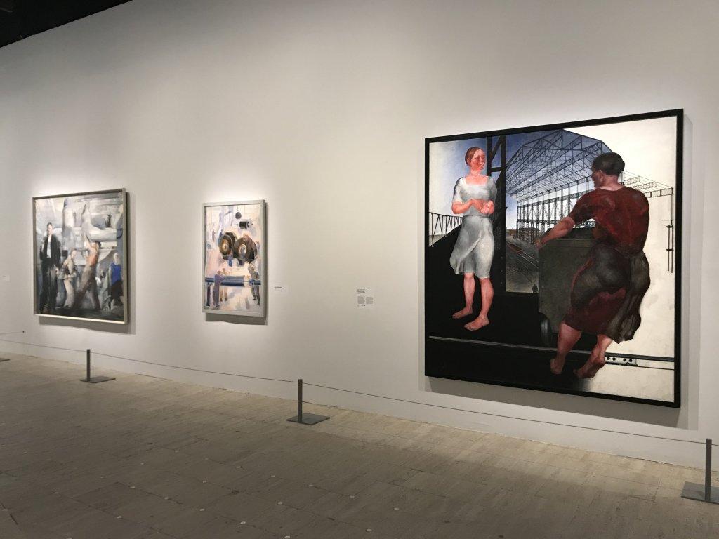 Vue de l'exposition Rouge, Art et utopie au pays des Soviets, Paris (41)
