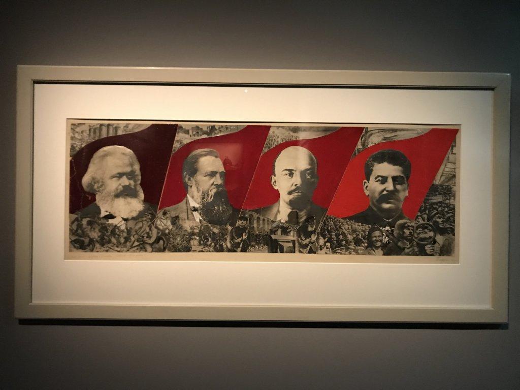 Vue de l'exposition Rouge, Art et utopie au pays des Soviets, Paris (43)