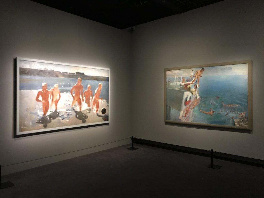 Vue de l'exposition Rouge, Art et utopie au pays des Soviets, Paris (45)