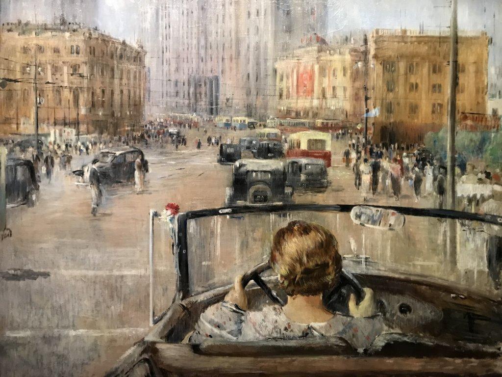 Vue de l'exposition Rouge, Art et utopie au pays des Soviets, Paris (48)