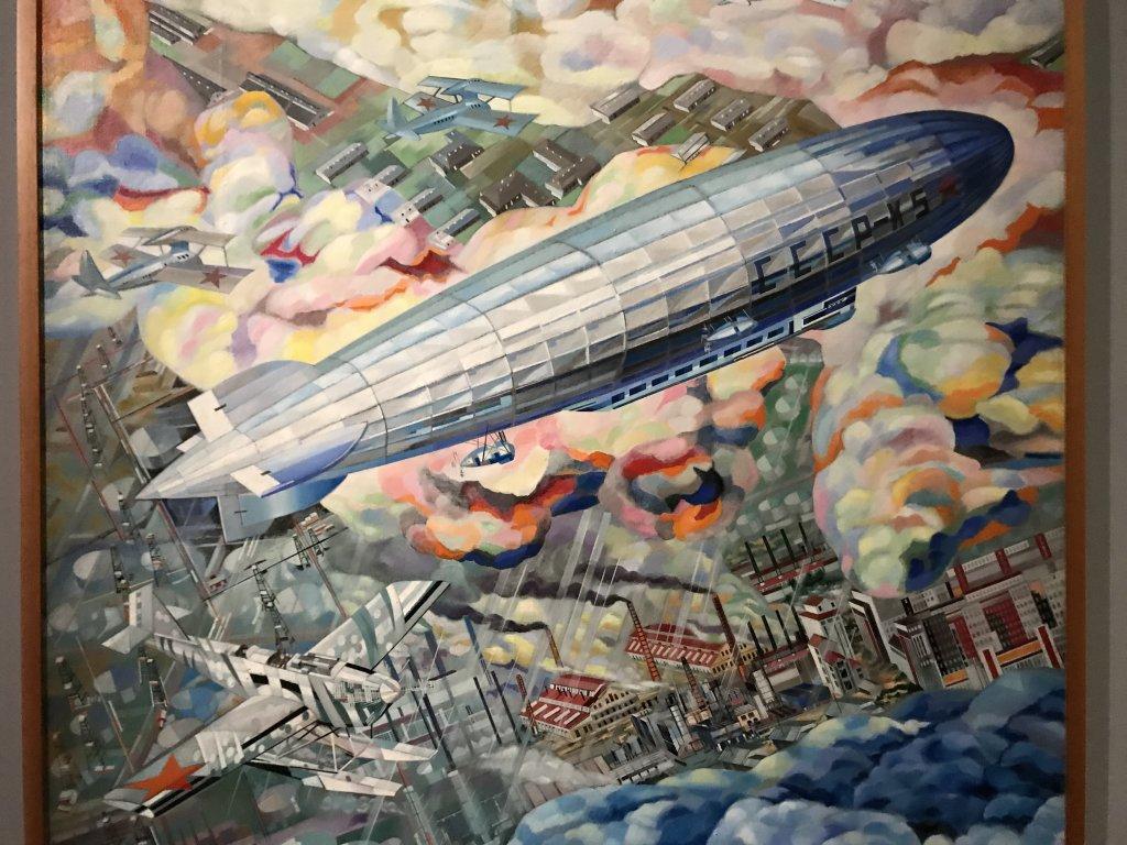 Vue de l'exposition Rouge, Art et utopie au pays des Soviets, Paris (5)