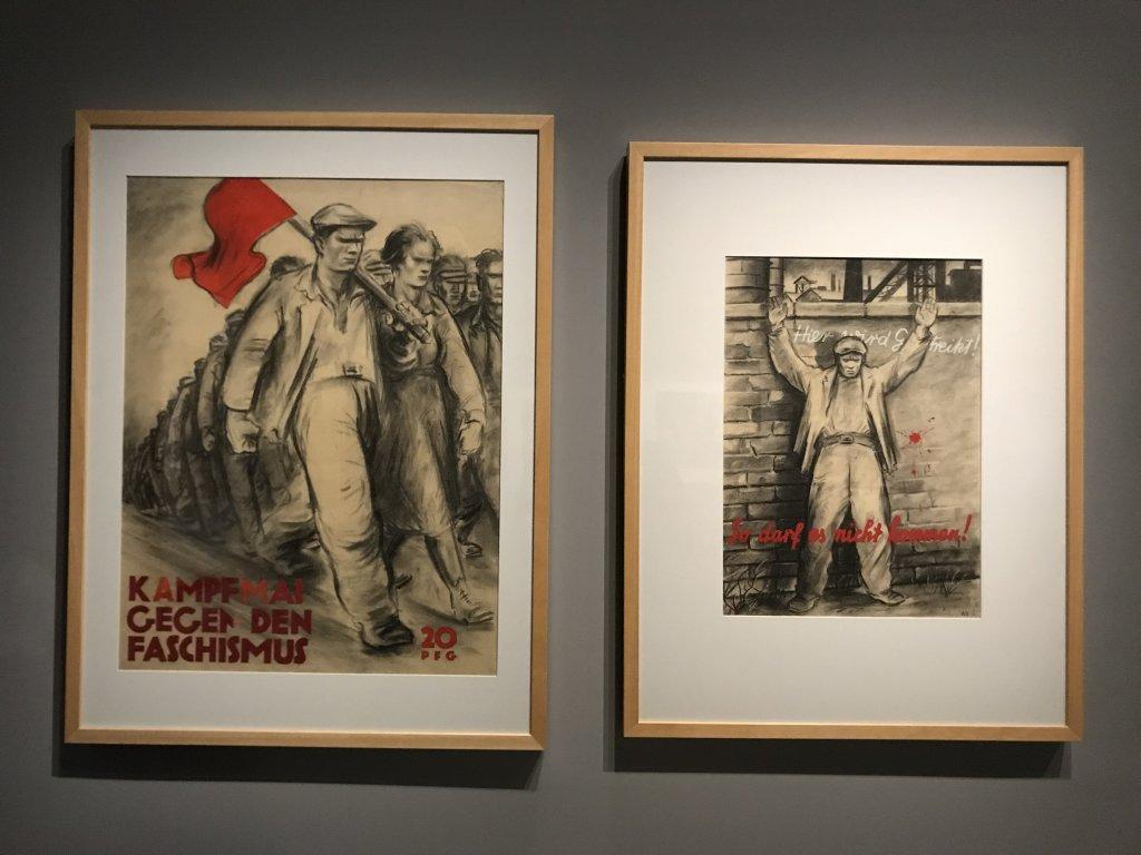 Vue de l'exposition Rouge, Art et utopie au pays des Soviets, Paris (50)