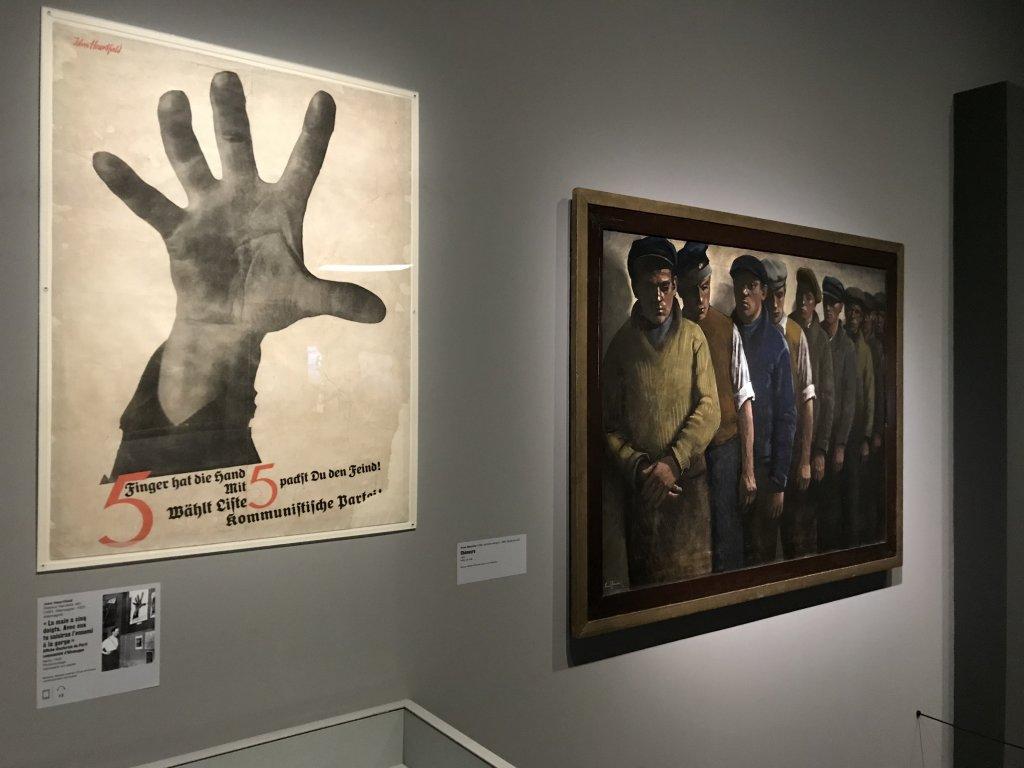 Vue de l'exposition Rouge, Art et utopie au pays des Soviets, Paris (51)