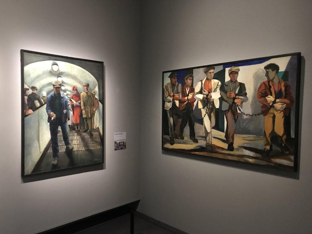 Vue de l'exposition Rouge, Art et utopie au pays des Soviets, Paris (52)