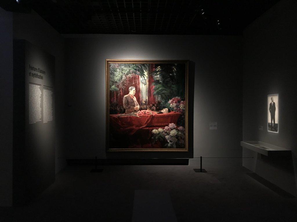 Vue de l'exposition Rouge, Art et utopie au pays des Soviets, Paris (7)