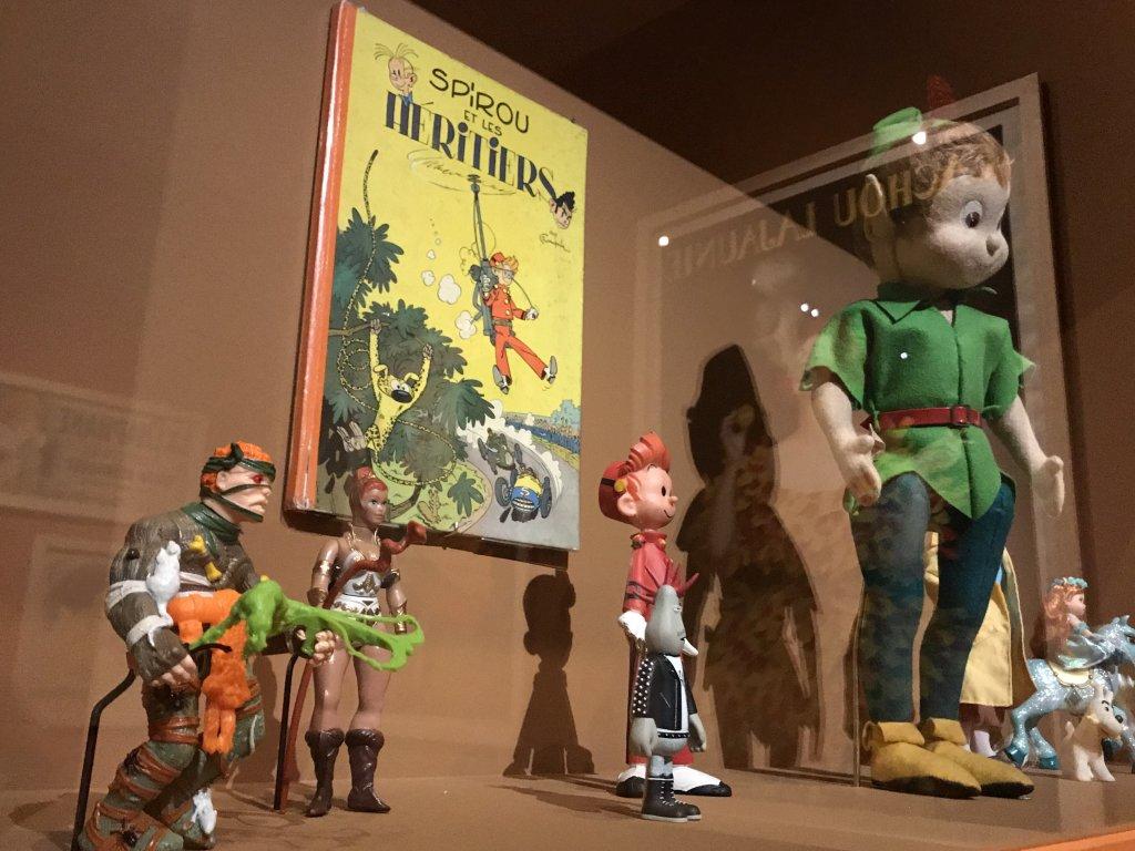 Vue de l'exposition Roux, Musée Jean-Jacques Henner, Paris (13)