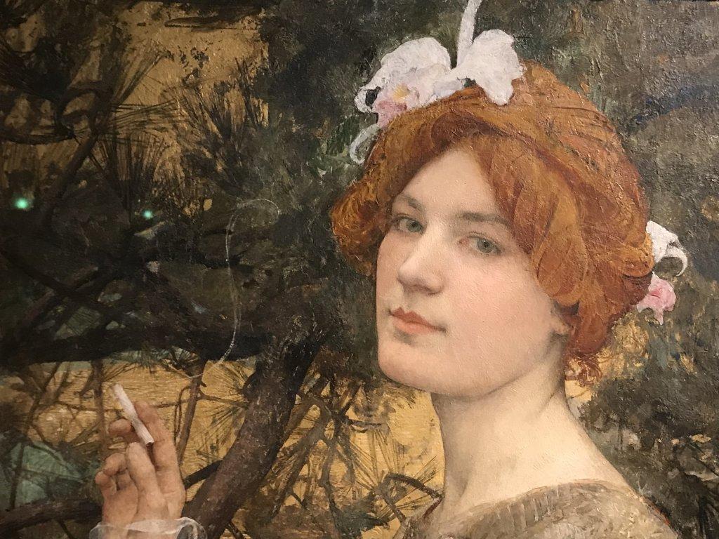 Vue de l'exposition Roux, Musée Jean-Jacques Henner, Paris (23)