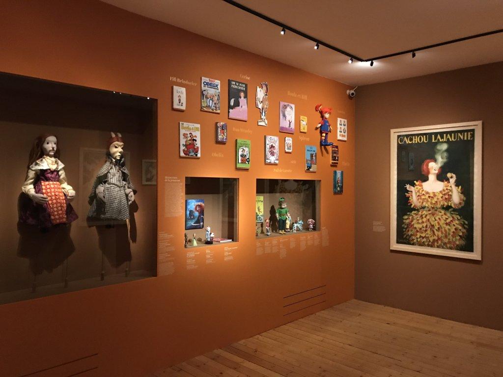 Vue de l'exposition Roux, Musée Jean-Jacques Henner, Paris (3)
