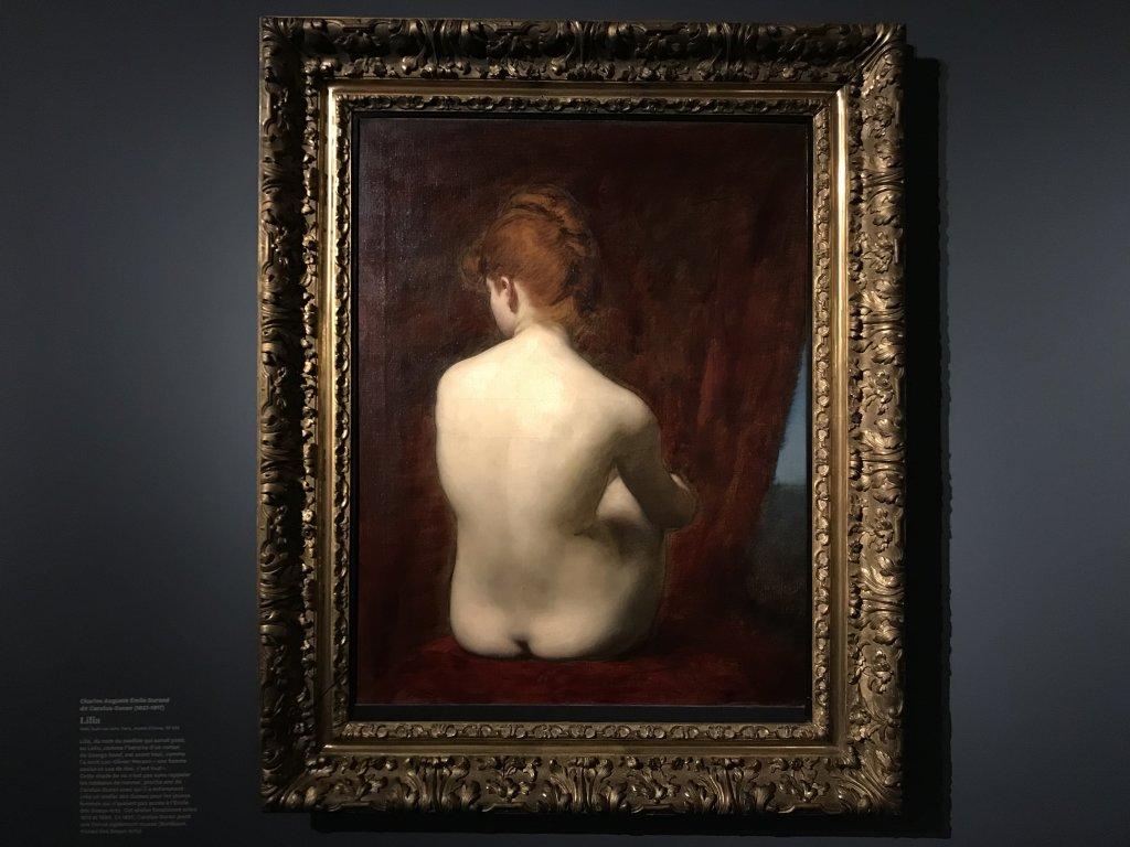 Vue de l'exposition Roux, Musée Jean-Jacques Henner, Paris (35)