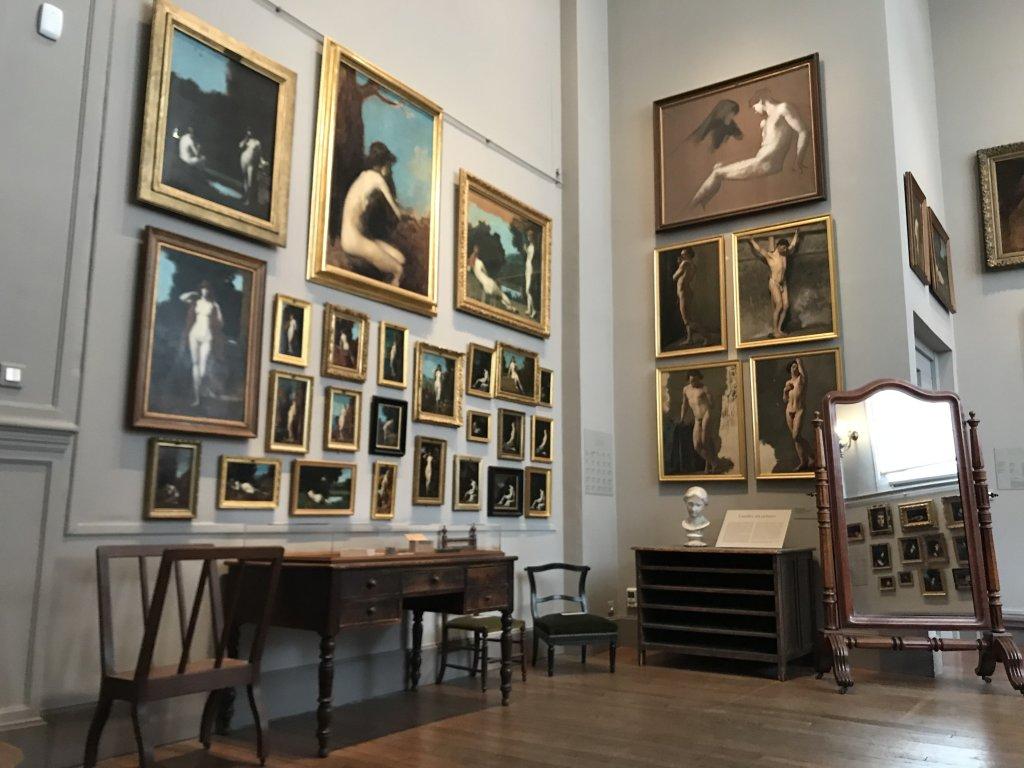 Vue de l'exposition Roux, Musée Jean-Jacques Henner, Paris (37)