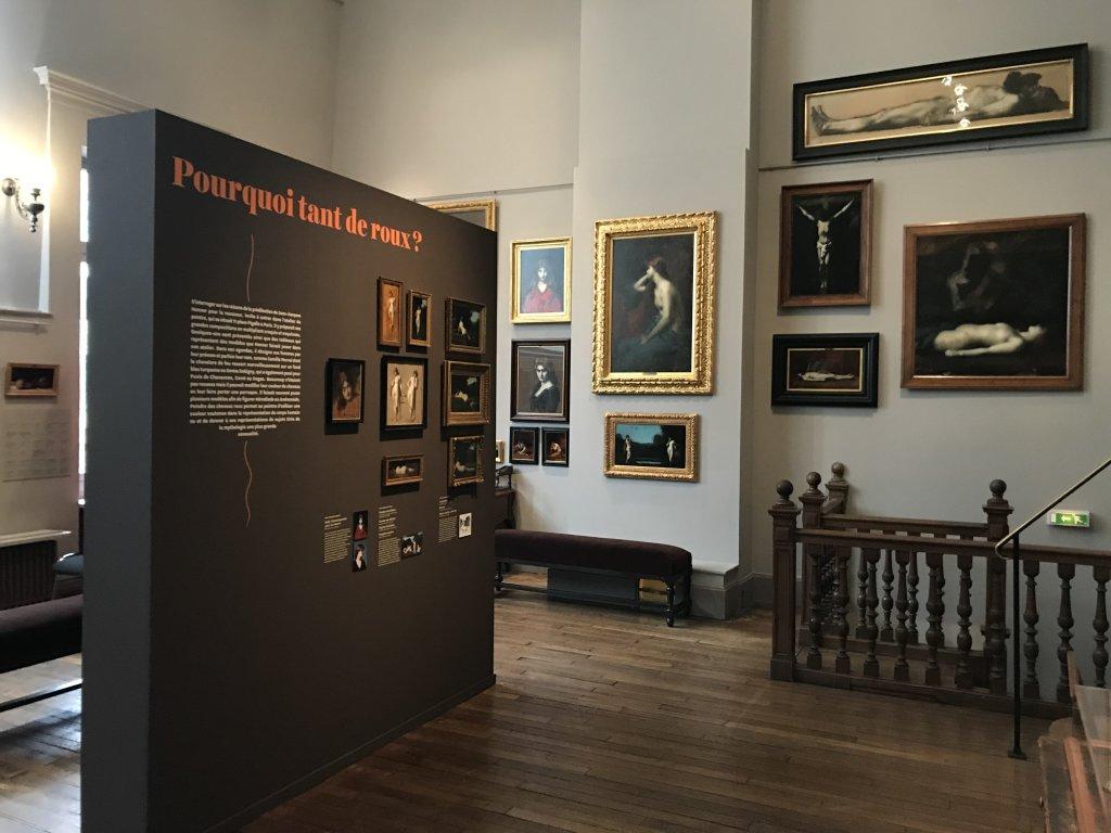 Vue de l'exposition Roux, Musée Jean-Jacques Henner, Paris (39)