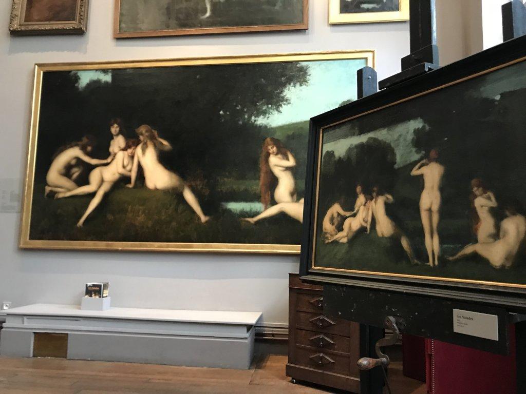 Vue de l'exposition Roux, Musée Jean-Jacques Henner, Paris (40)