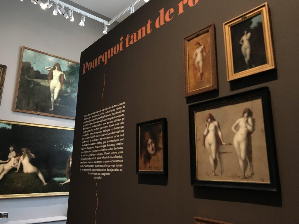 Vue de l'exposition Roux, Musée Jean-Jacques Henner, Paris (41)