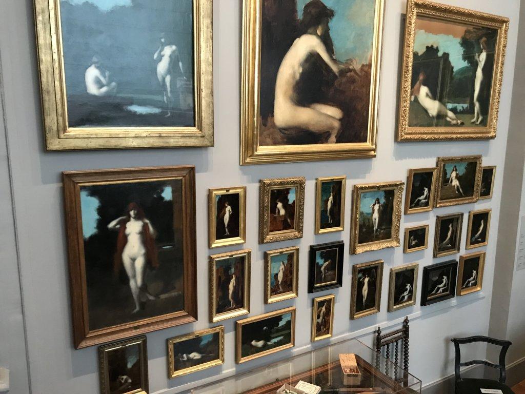Vue de l'exposition Roux, Musée Jean-Jacques Henner, Paris (43)