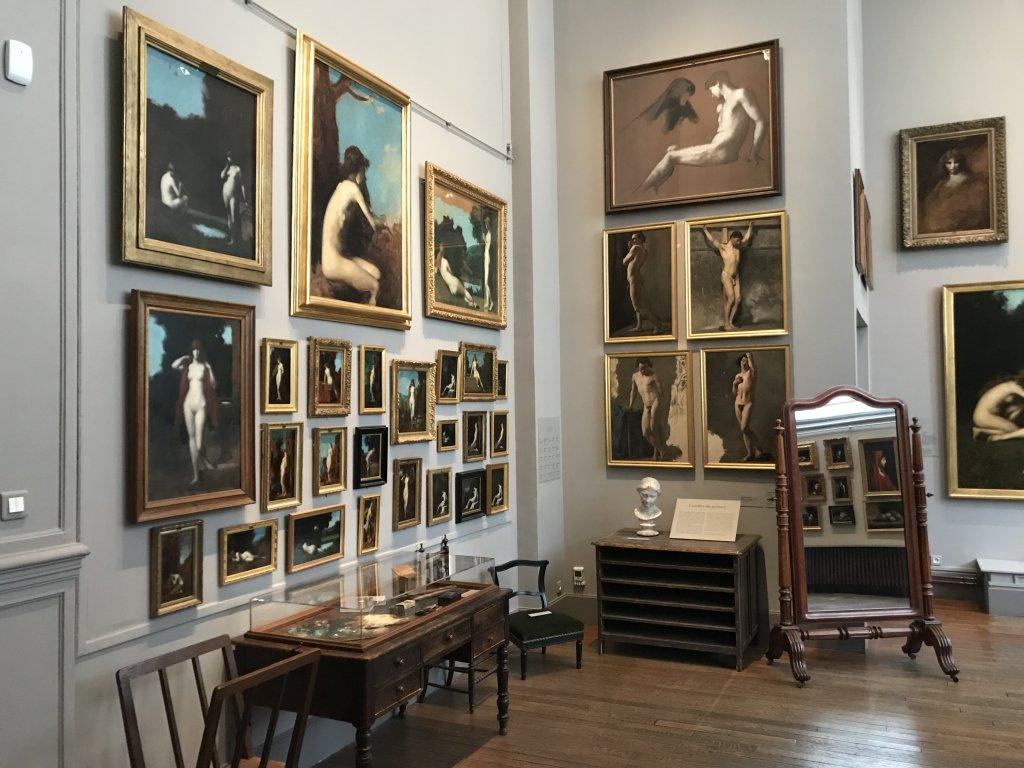 Vue de l'exposition Roux, Musée Jean-Jacques Henner, Paris (44)